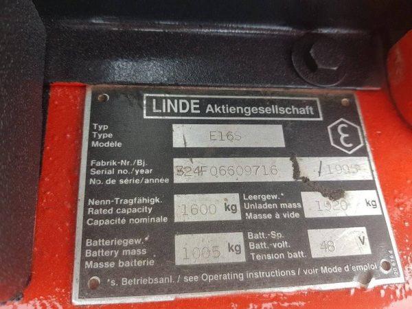 LINDE E16S-1995