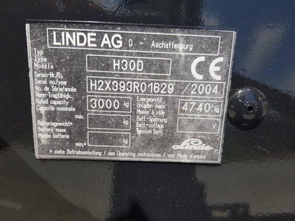 LINDE H30D-2004
