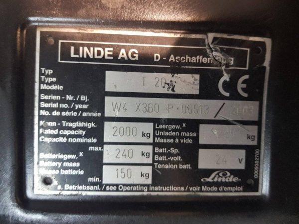 LINDE T20/T18