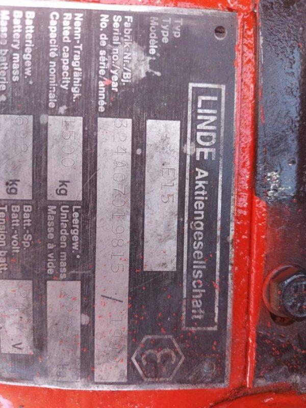 LINDE E15-1990
