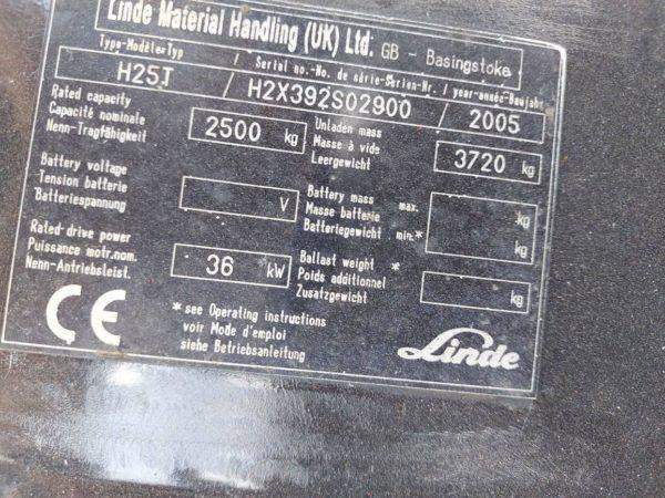 LINDE H25T-2005
