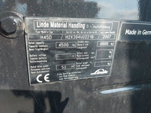LINDE H45D-2007