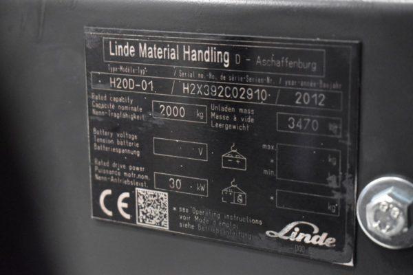 LINDE H20D-2012