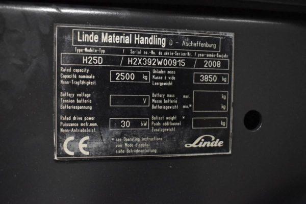 LINDE H25D-2008